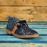 polacchino wally walker in glitter color blu