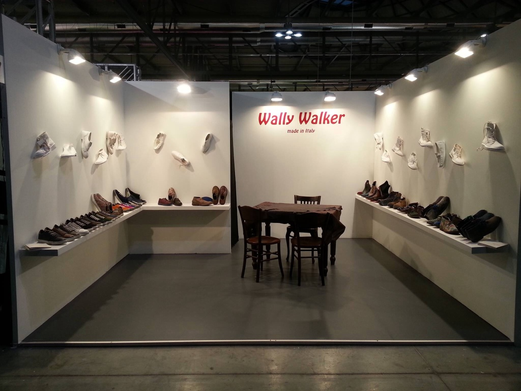 Stand Wally Walker al Micam 2015