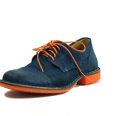 scarpa casual Fanio navy - fronte